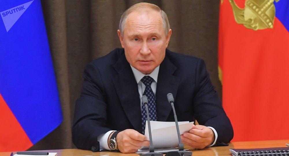 普京:俄羅斯反對太空軍事化