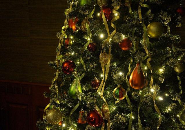 新年聖誕樹