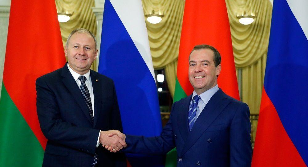 消息人士:俄白兩國總理會談富有成果但未解決所有問題