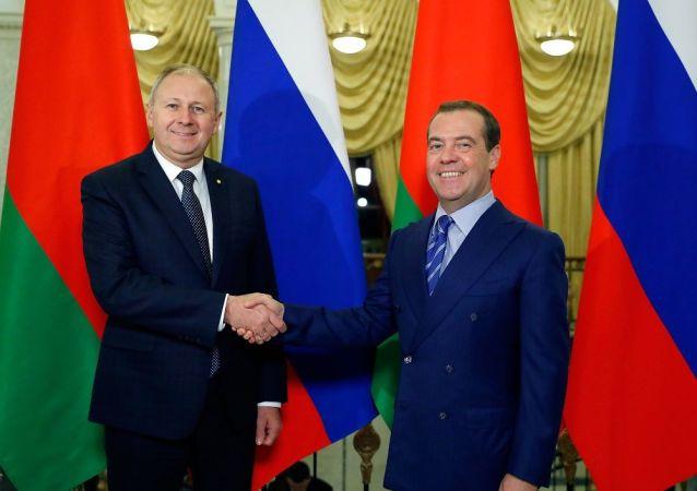 消息人士稱俄上屆政府為加深俄白一體化盡到全力