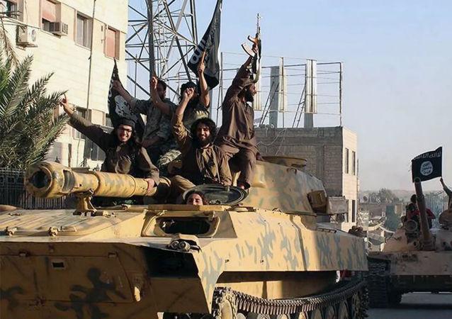 「伊斯蘭國」武裝分子在敘利亞