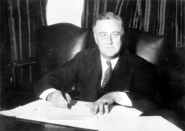 羅斯福總統(1933年)