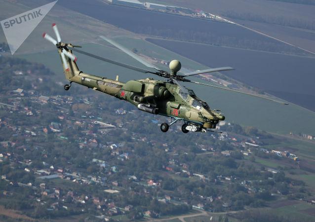 米-28, 俄南部軍區
