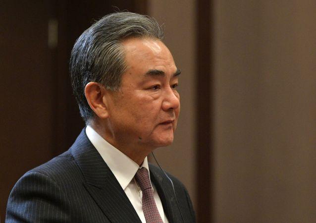 中國國務委員兼外交部長王毅