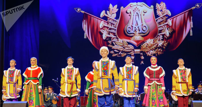 俄羅斯亞歷山大大紅旗歌舞團