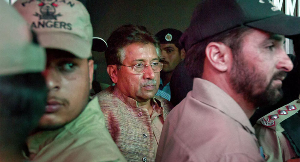 巴基斯坦前總統穆沙拉夫