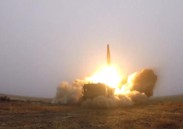 「伊斯坎德爾」彈道導彈發射視頻