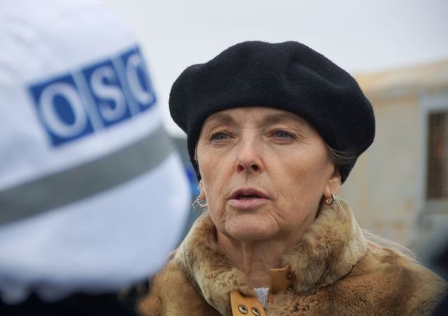 盧甘斯克人民共和國交換戰俘工作小組組長奧爾加·科布採娃