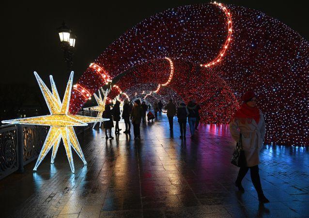 莫斯科12月18日的氣溫創133年來的最高記錄