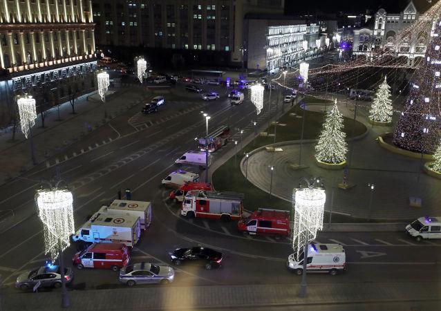 俄偵委:莫斯科市中心槍擊案死亡人數增至兩人