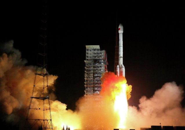 中國成功發射遙感三十號08組衛星 資料圖