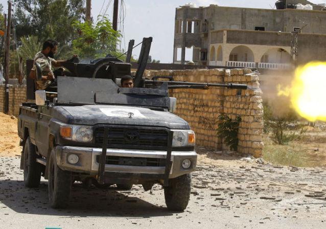 利比亞民族團結政府的軍人