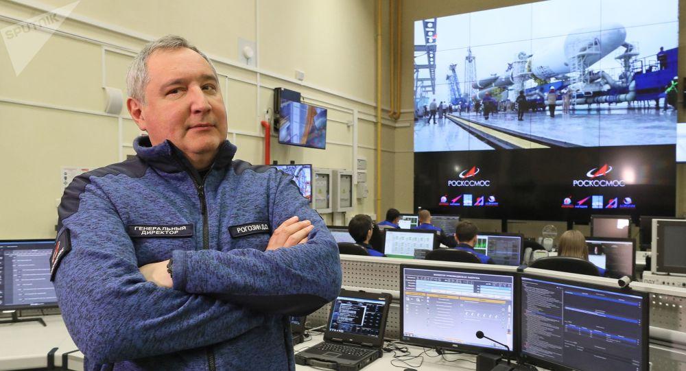 俄羅斯國家航天集團公司總裁羅戈津