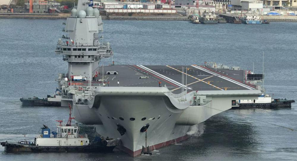 外媒:中國的海軍實力正在趕超美國