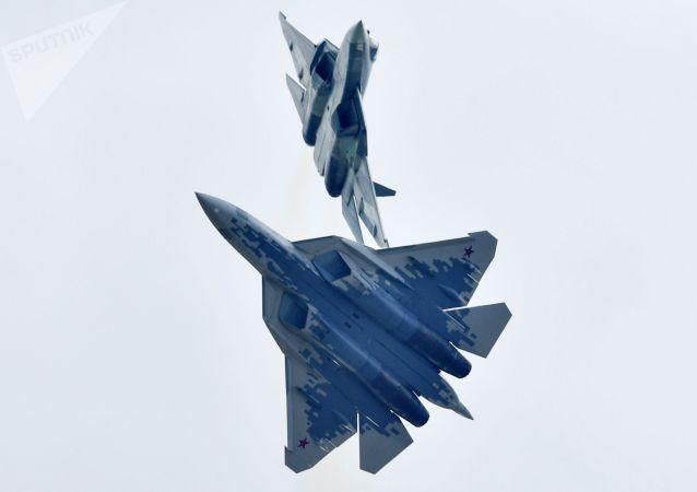 《國家利益》雜誌稱蘇-57無戰鬥力