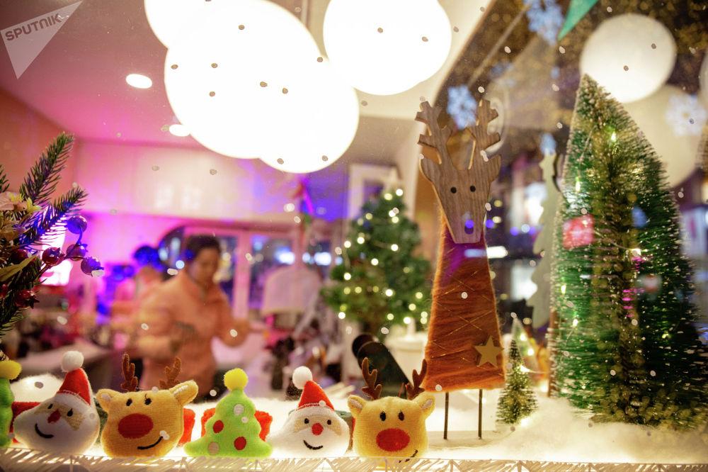 藍色港灣聖誕市集的聖誕紀念品