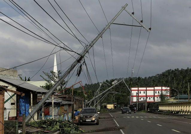 颱風造成的後果(菲律賓)