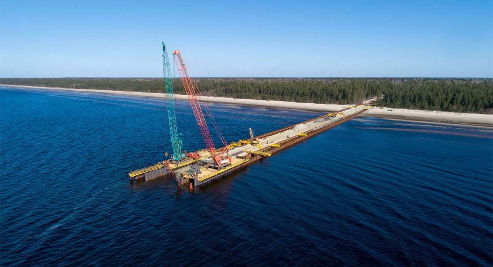 「北溪-2」項目的建設