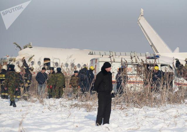 納扎爾巴耶夫對阿拉木圖空難表示哀悼