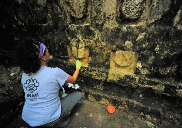 墨西哥發現的瑪雅宮殿