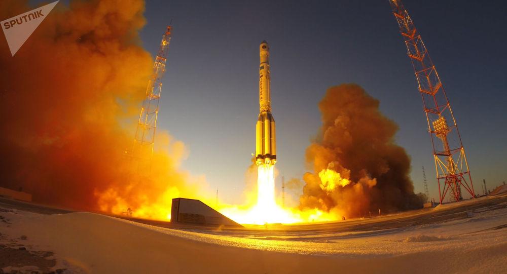 俄羅斯「電子-L」3號氣象衛星發射
