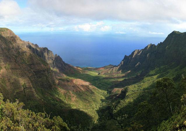 美國夏威夷州考艾島Kōkeʻe地區