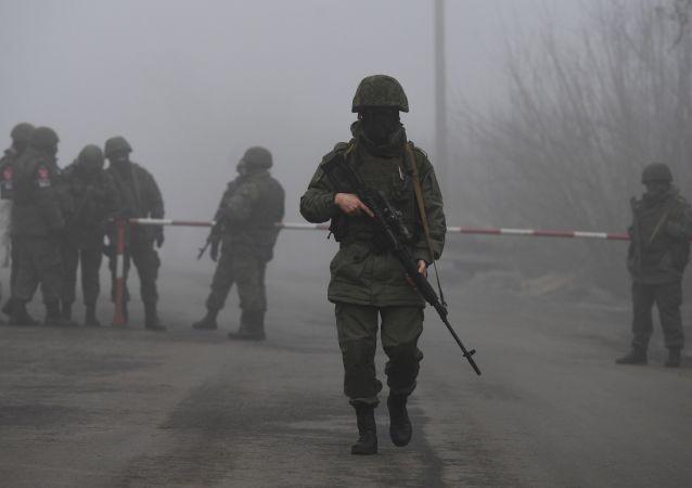 頓涅茨克人民共和國軍人