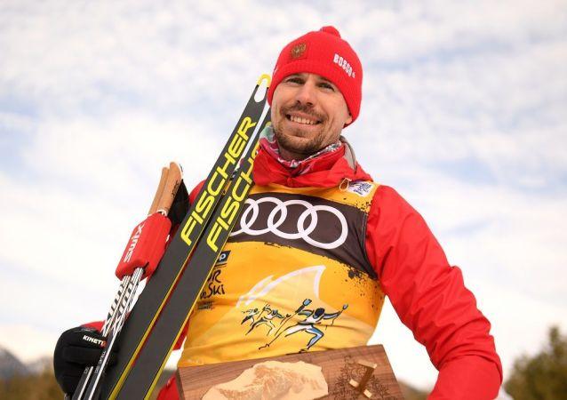 俄羅斯滑雪運動員謝爾蓋∙烏斯久科夫