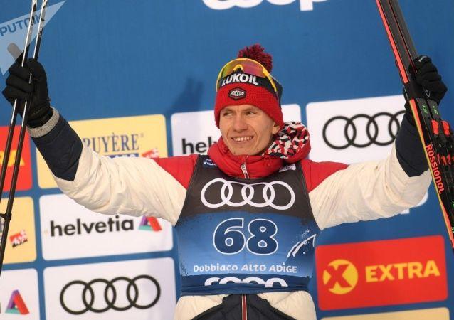 俄滑雪運動員波爾舒諾夫(資料圖片)