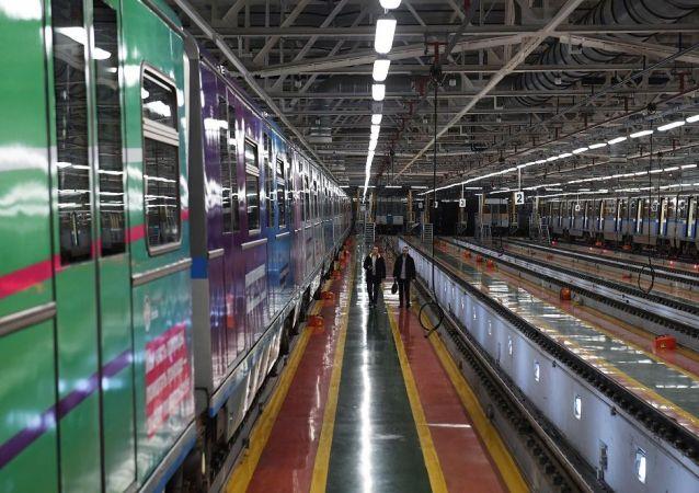 莫斯科地鐵2020年將舉行130多場機務段導覽