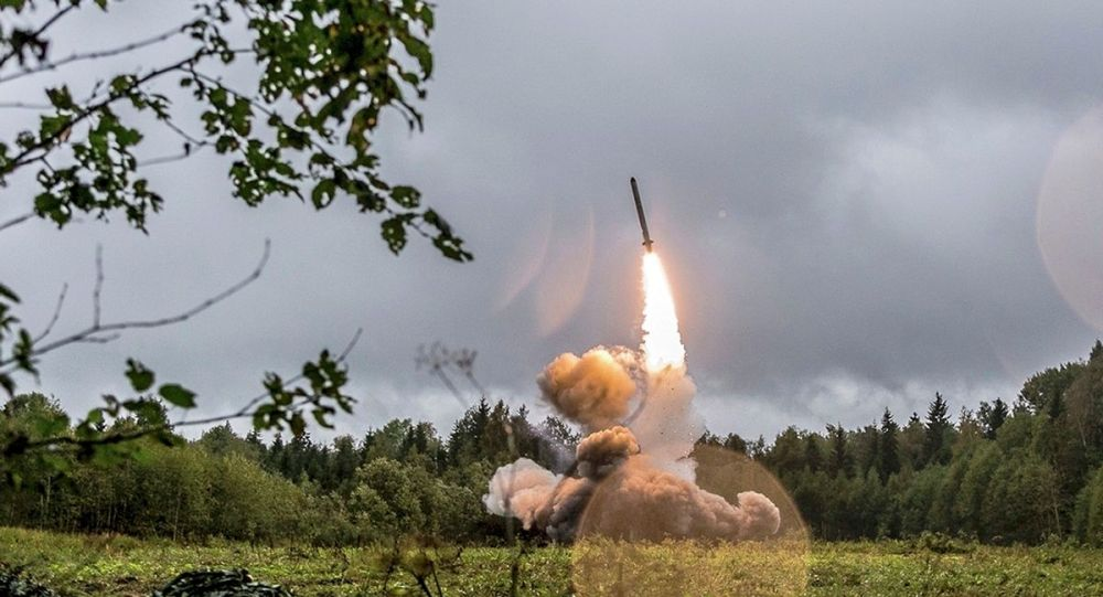 伊斯坎德爾導彈發射