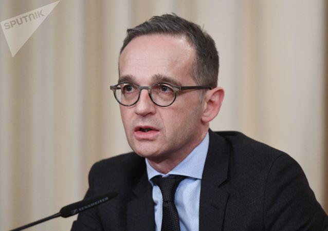 德國外交部長馬斯