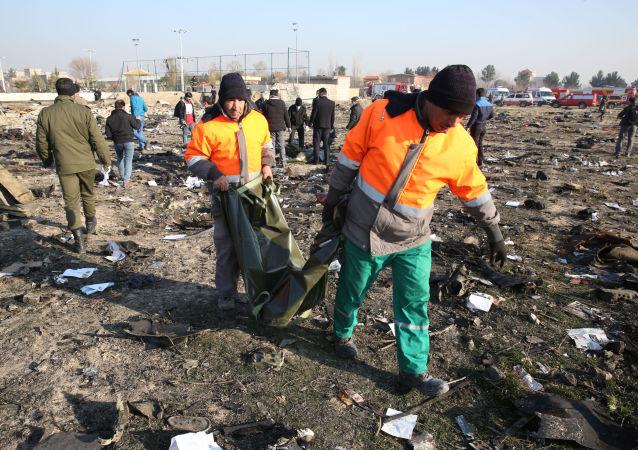 烏大使館:無理由認為烏克蘭客機在伊朗墜毀事件為恐怖襲擊