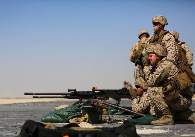 美國機槍兵