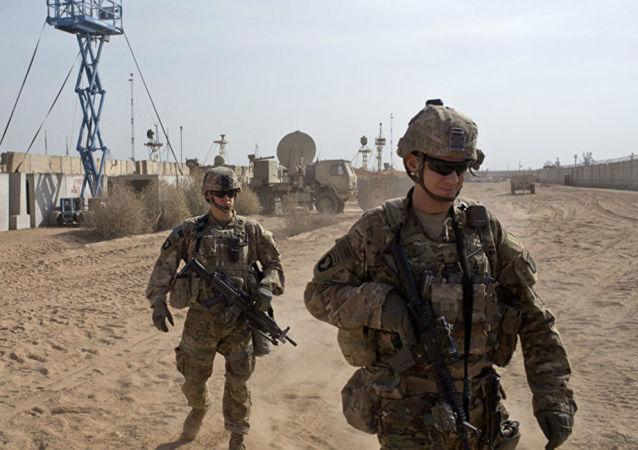 駐伊拉克美軍