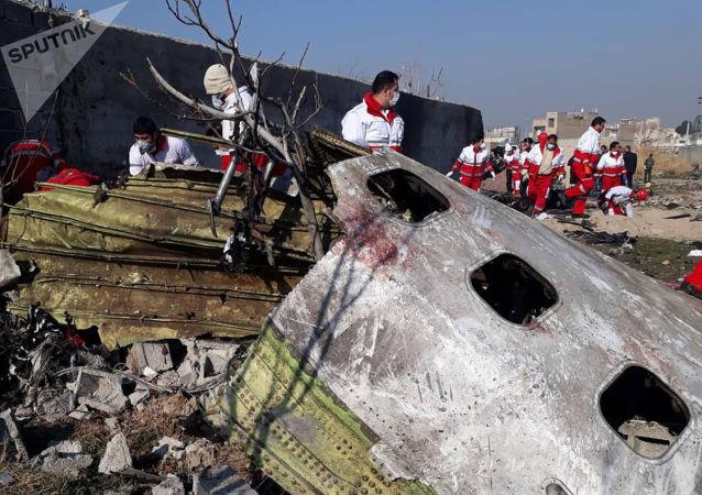 伊朗總統:伊朗將繼續調查導致烏克蘭航班墜毀的錯誤