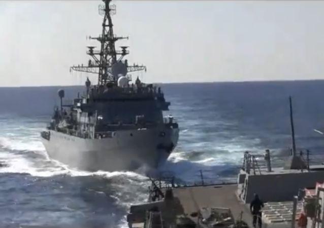 俄國防部駁斥有關俄船隻在阿拉伯海危險接近美國艦的言論