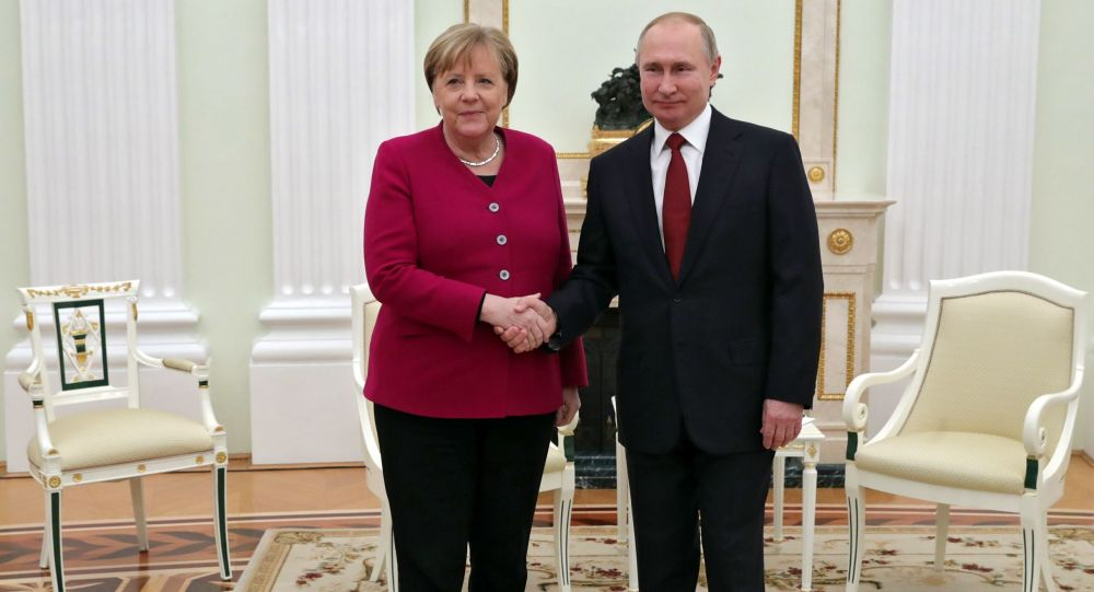 普京:俄羅斯高度評價德國支持北溪2號項目的立場