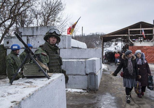 盧甘斯克人民共和國軍人