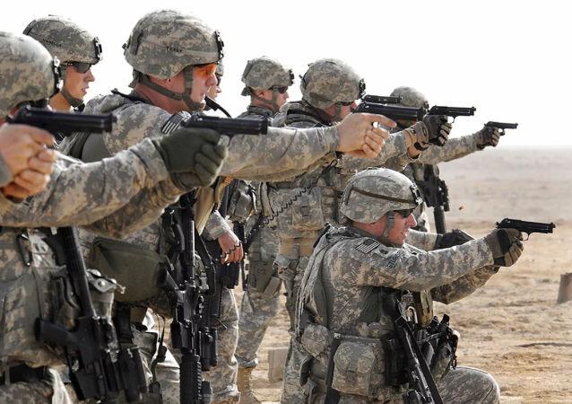 美軍在波斯灣