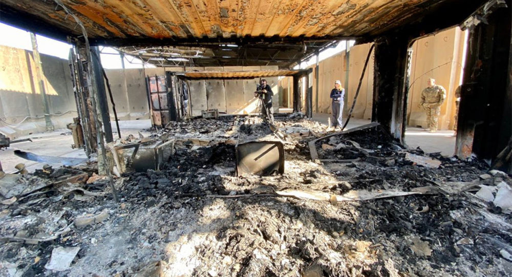 照片顯示伊朗打擊美國空軍基地的後果