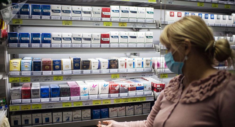 法國煙草製品銷量自實施隔離制度以來上漲三分之一