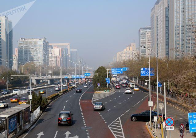 外媒:衛星圖像顯示,中國的空氣變得更清潔了