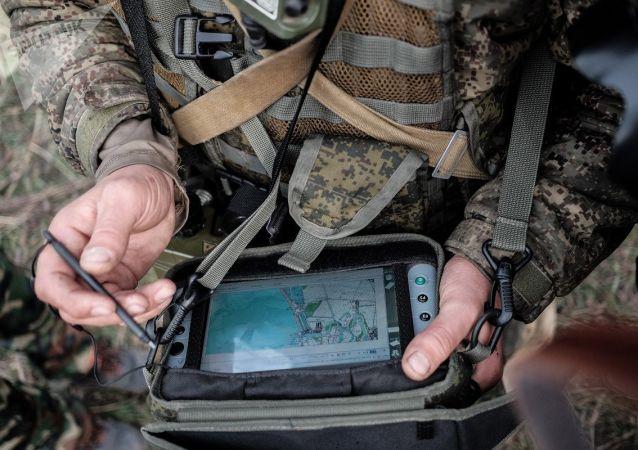最近接裝的「射手座」偵察、指揮和通訊綜合系統