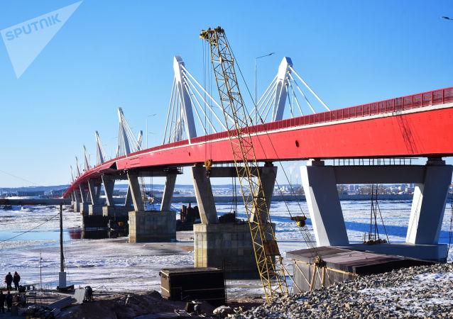 布拉戈維申斯克—黑河界河公路大橋