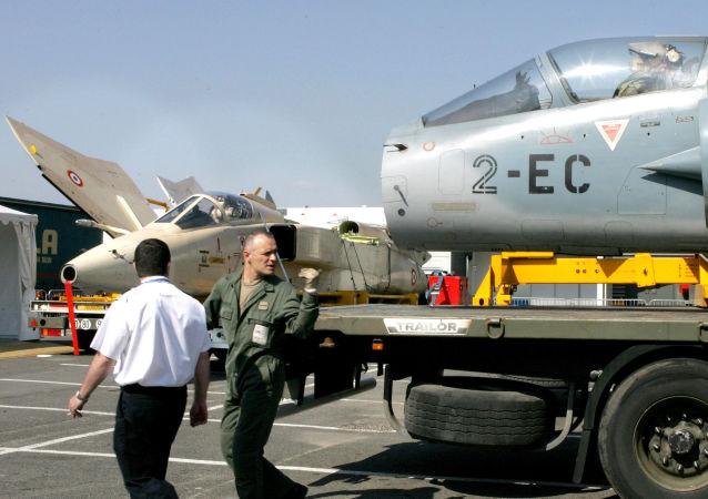馬克龍宣佈法國「美洲虎」特種部隊已部署中東