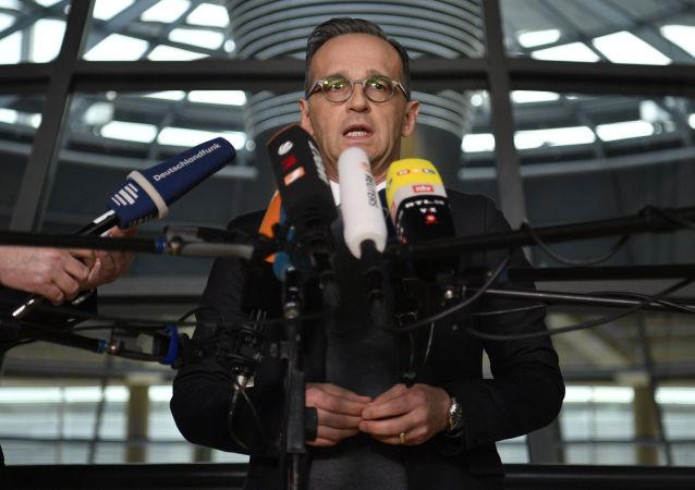 德國外長馬斯