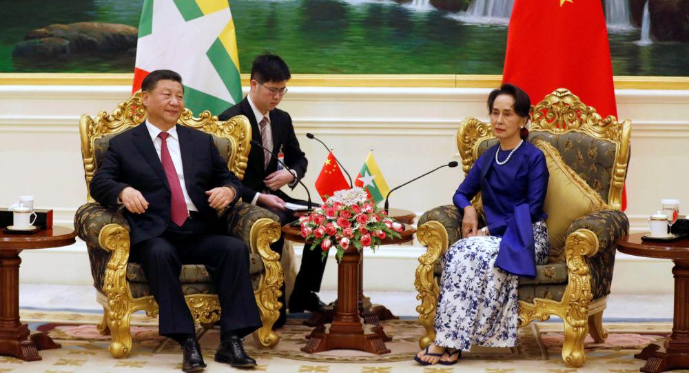 中國國家主席習近平於1月17日至18日對緬甸進行國事訪問