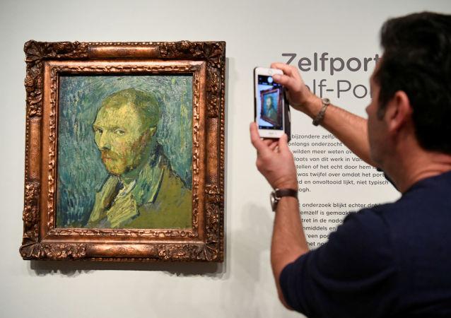 專家確認奧斯陸博物館的梵高在醫院所畫自畫像為真跡