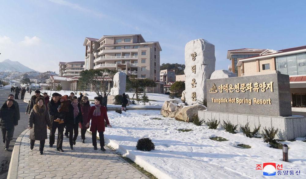 朝鮮陽德溫泉文化休養地開業